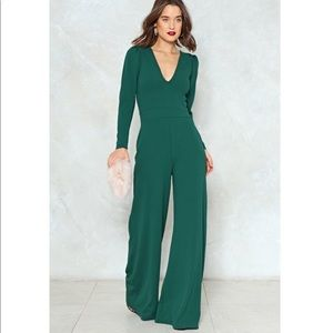 Nasty Gal The Jump-off wide leg jumpsuit